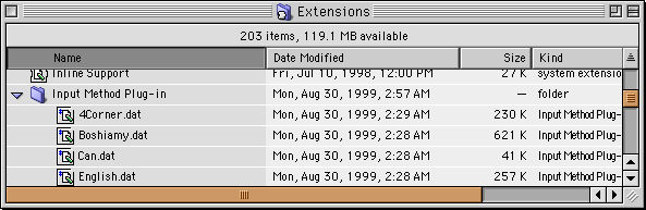 Picture of Extension Folder